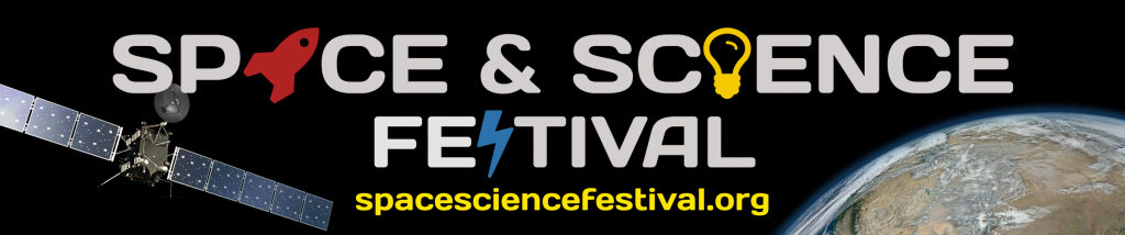 Space and Science Festival Banner Image - spacesciencefestival.org