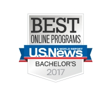 US News and World Report Award for the Best Online Bachelor's Degree Programs for 2017 (given to OSU)