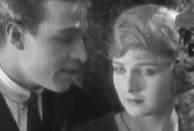 Still image from 'The Conquering Power' is a 1921 American silent film romantic drama directed by Rex Ingram (director) and starring Rudolph Valentino, (the beautiful!) Alice Terry