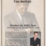 Tim Naftali Poster (2013)