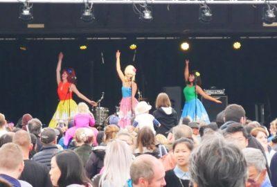Performers at CubaDupa