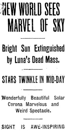 Headling from the Oregonian Newspaper from June 1918