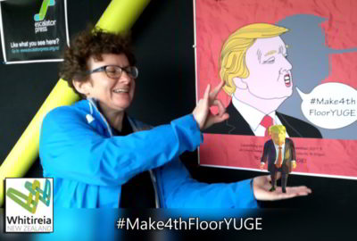 Augmented Reality Tiny Trump
